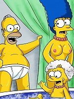 Homers family shemale surprise